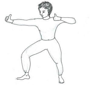 Archer pose for Class info